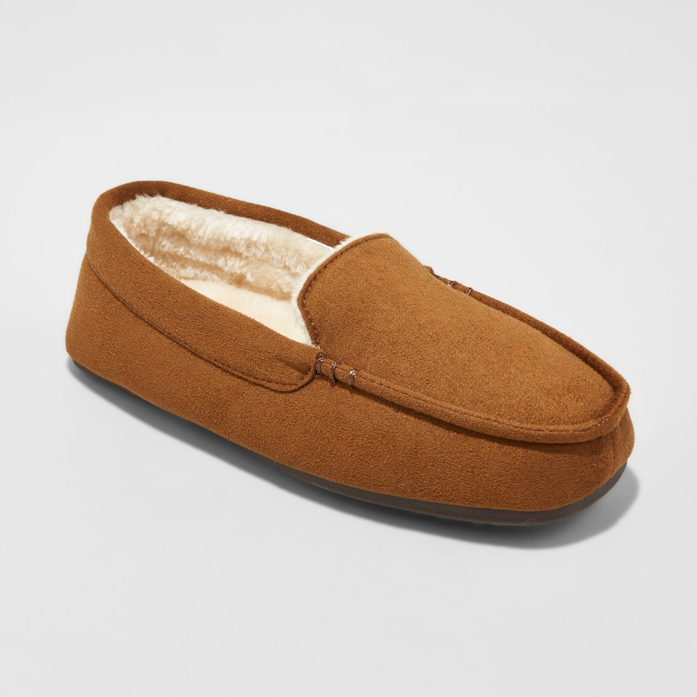 Boys Carmelo Loafer Slippers - Cat & Jack Chestnut XL(6), Size: XL (6), Brown