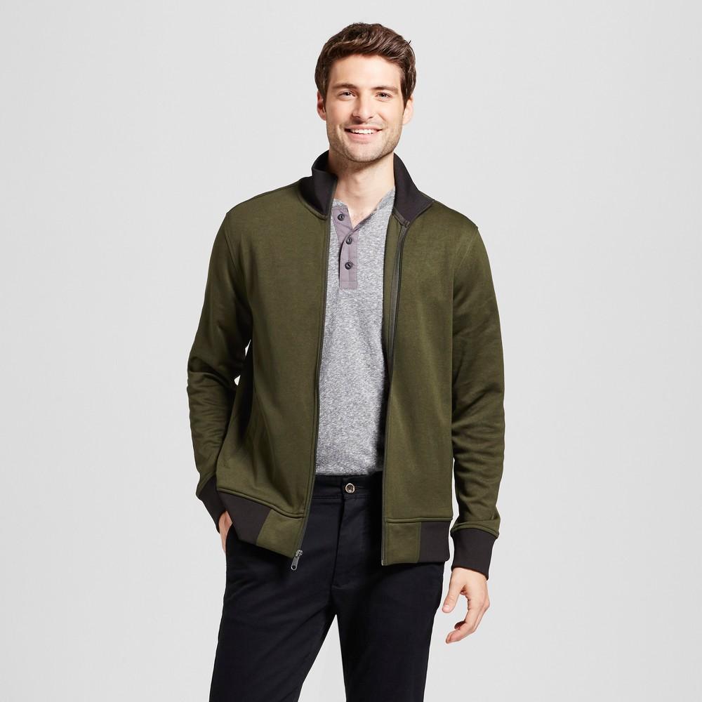 Mens Standard Fit Activewear Track Jackets - Goodfellow & Co Green XL
