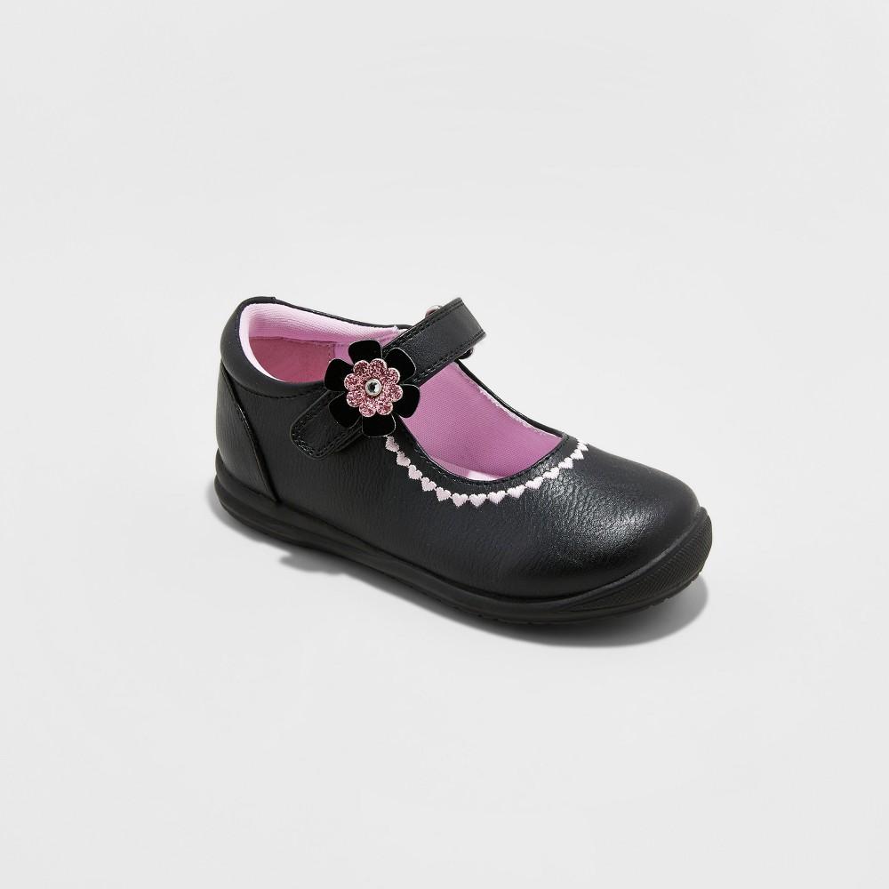 Toddler Girls Rachel Shoes Mary Jane Shoes Lane - Black 6