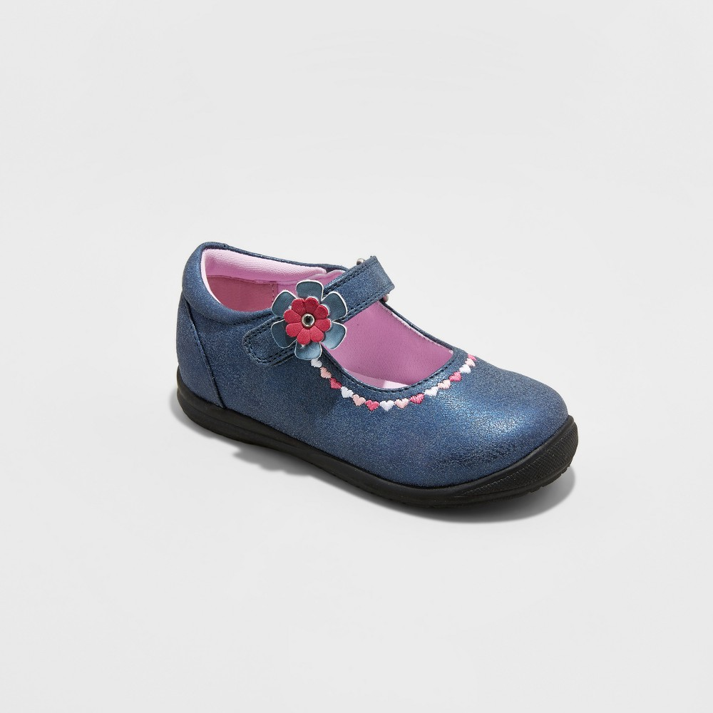 Toddler Girls Rachel Shoes Mary Jane Shoes Lane - Blue 9