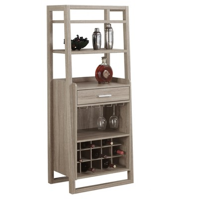 Home Bar - Ladder Style- Dark Taupe - EveryRoom