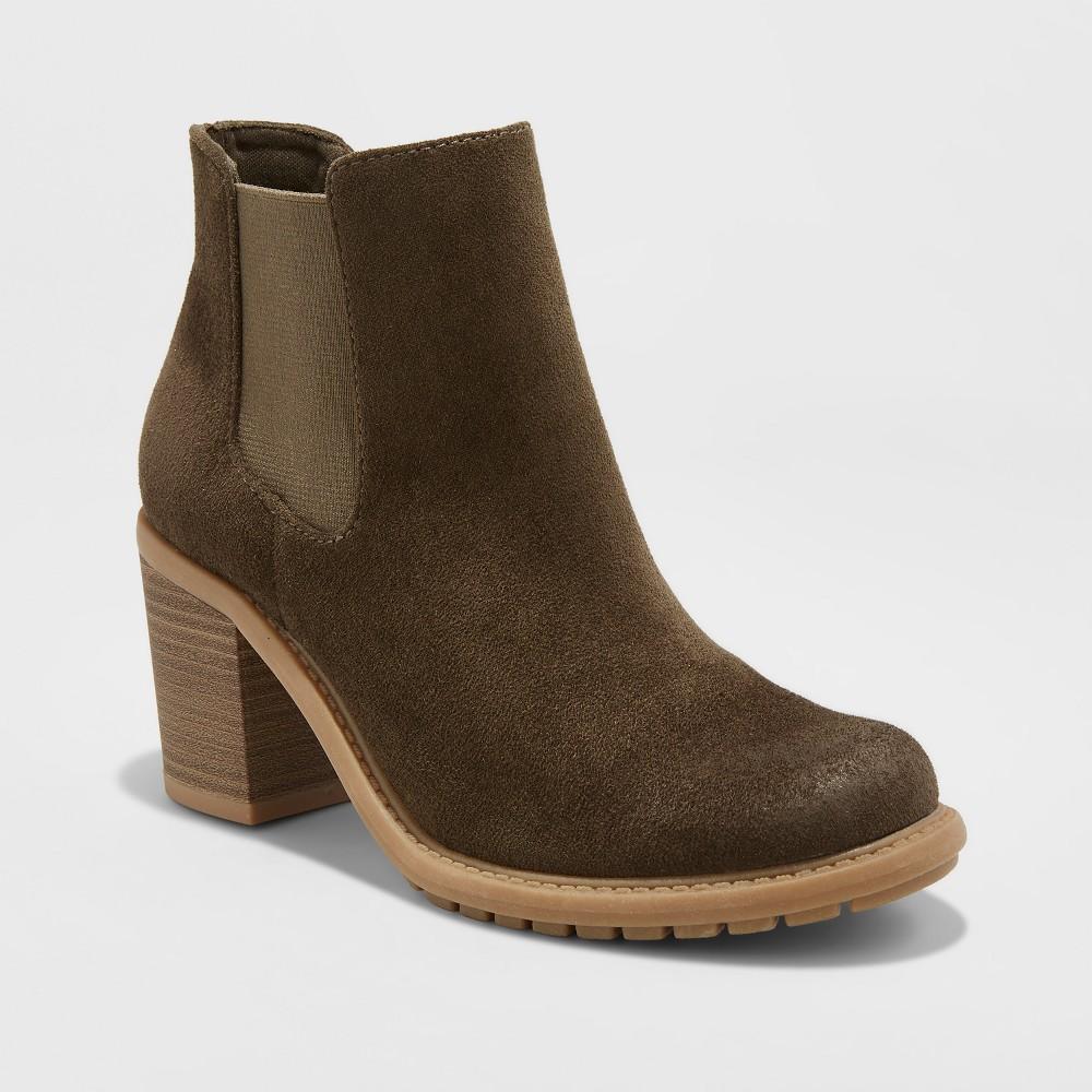 Womens Adalia Winter Boots - Merona Olive (Green) 8.5