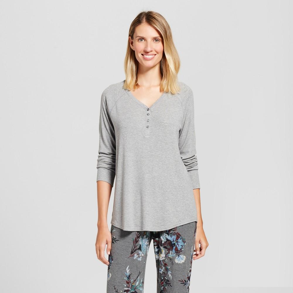 Womens Sleep tee shirts Medium Heather Gray XL