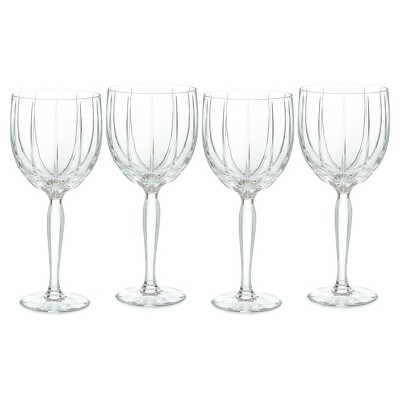 Marquis by Waterford Omega Crystal Goblets 11oz - Set of 4