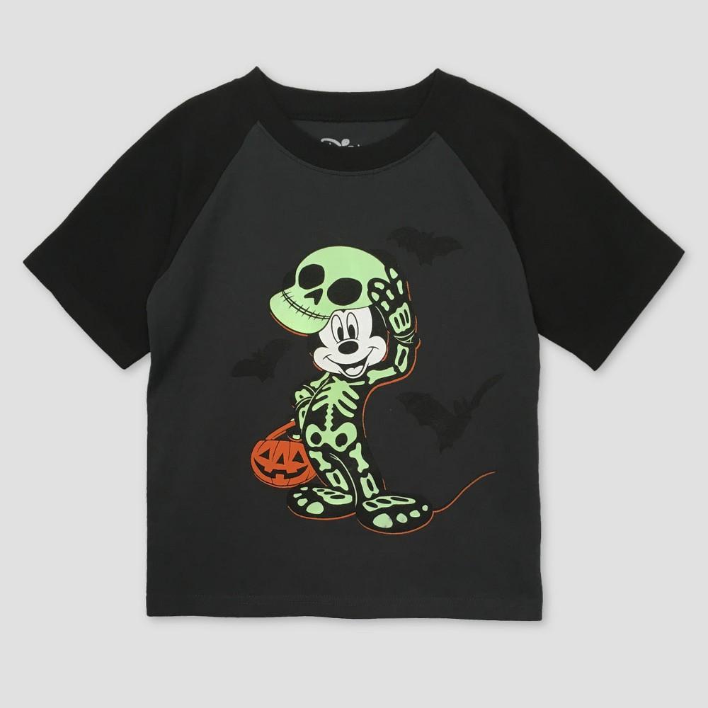 T-Shirt Mickey Mouse Dark Gray 2T, Toddler Boys