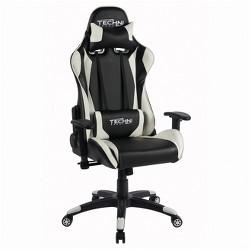 Ts-4600 Ergonomic High Back Computer Racing Gaming Chair - White - Techini Sport