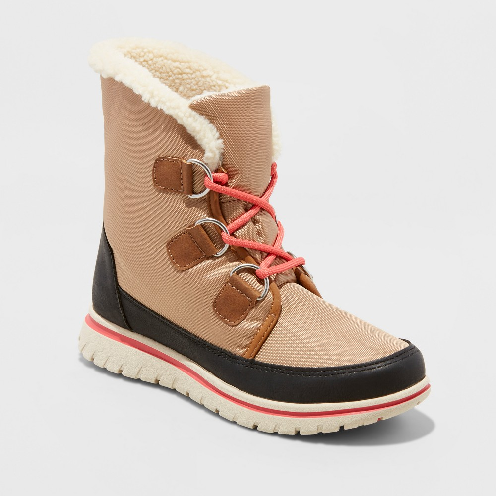 Womens Marika Winter Boots - Merona Tan 8