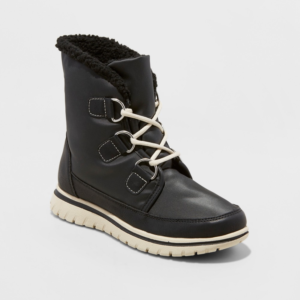 Womens Marika Winter Boots - Merona Black 8