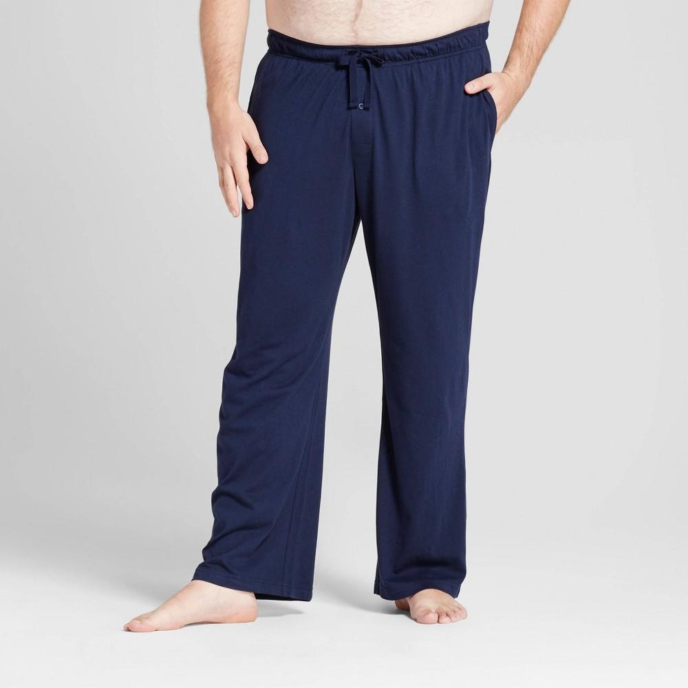 Mens Big & Tall Knit Pajama Pants - Goodfellow & Co Navy (Blue) Xxlt