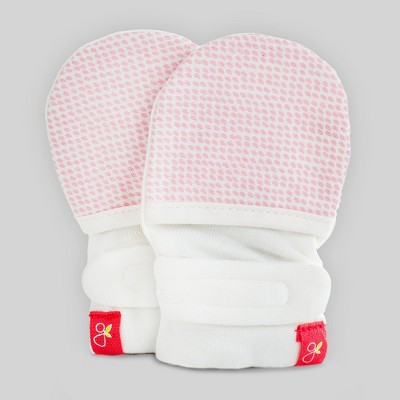 goumikids Baby Girls' goumimitts Drops - Pink 0-3M
