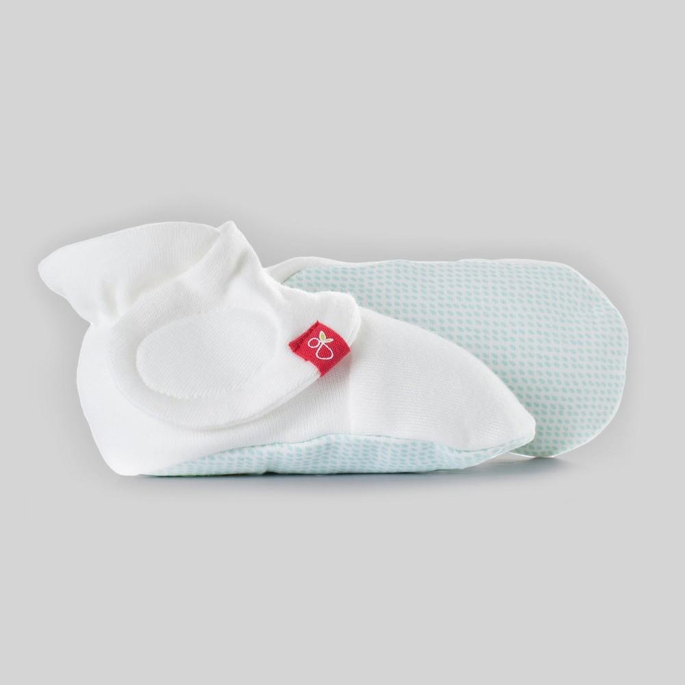 goumikids Baby goumiboots Drops - Aqua (Blue) 0-3M, Infant Unisex, Size: 0-3 M