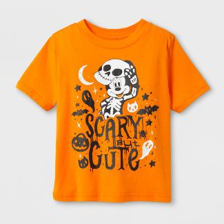 toddler boys mickey mouse short sleeve halloween t shirt orange - Halloween Shirts For Ladies