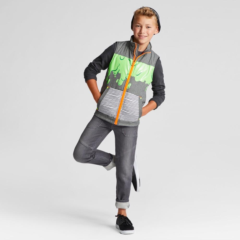 Boys Fashion Vest - Cat & Jack Gray M