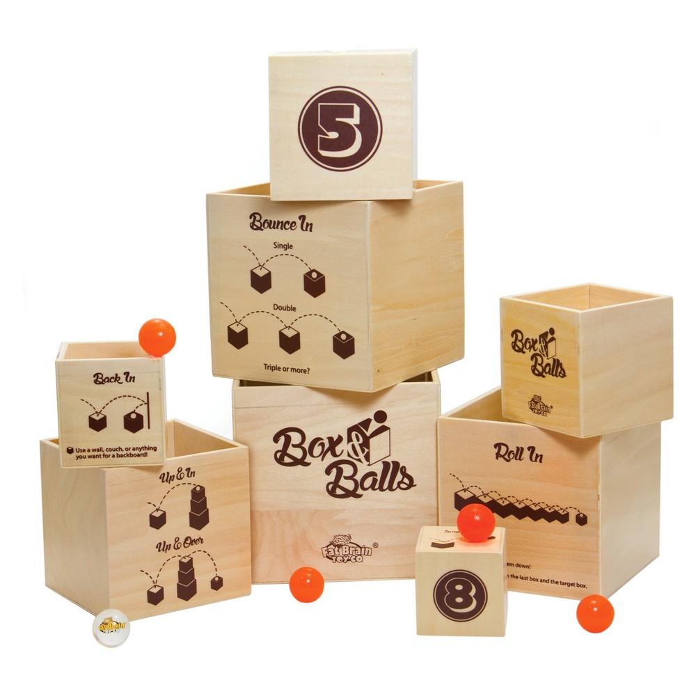 Box N Balls Game, Multi-Colored