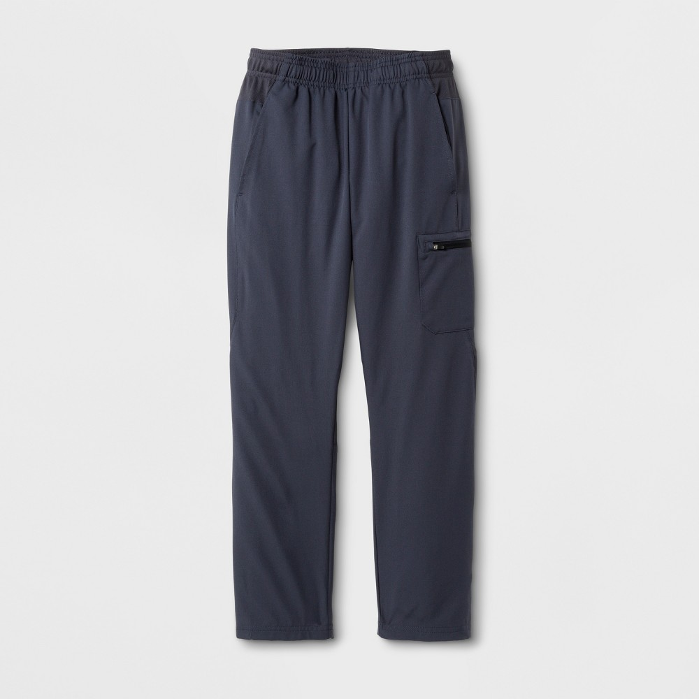 Boys' Cargo Woven Pants - C9 Champion - Stealth Gray M