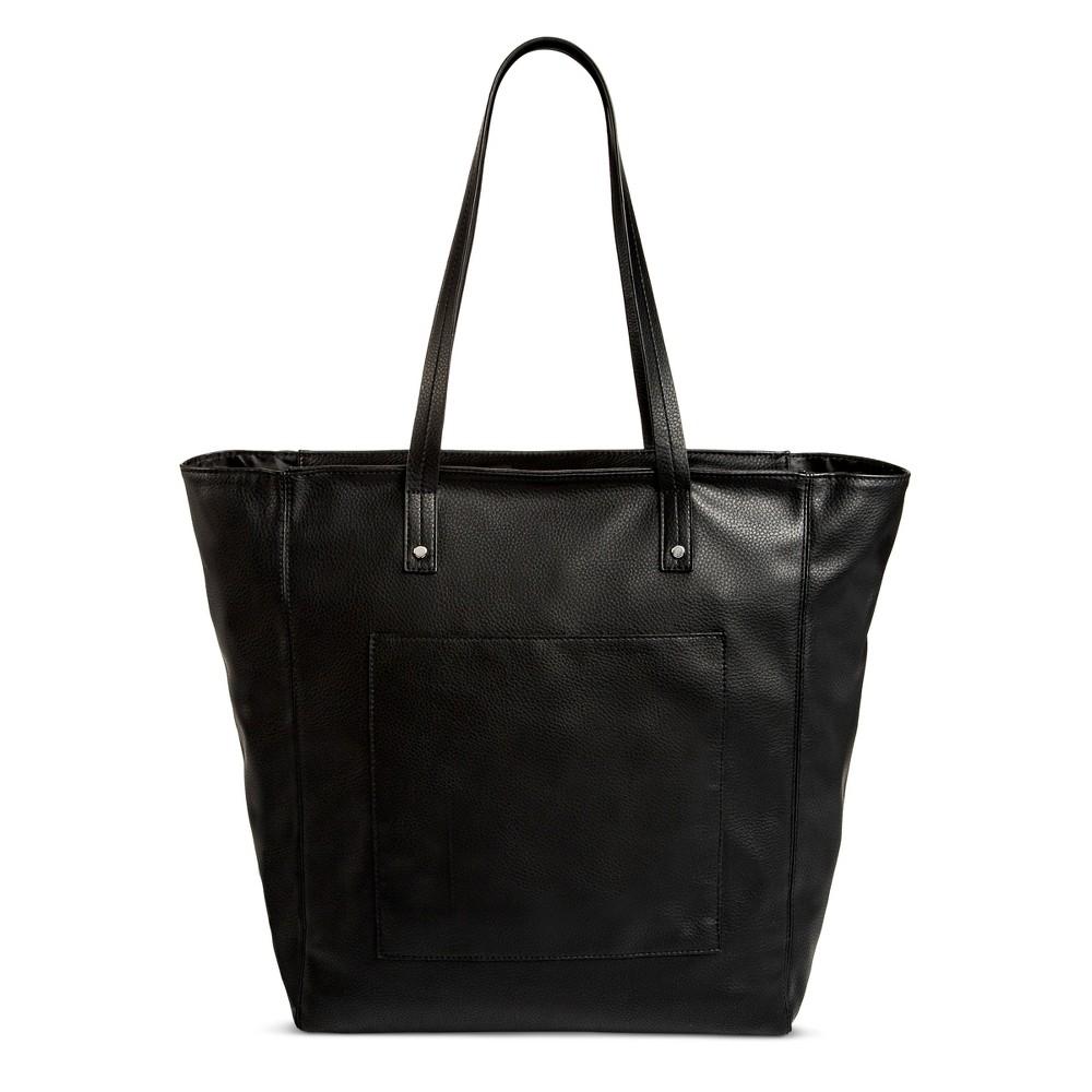 Womens Large Tote Handbag - Mossimo Supply Co. Black