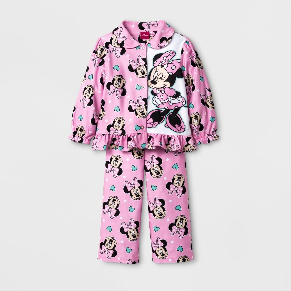 Pajama Set Xhilaration Pink 2T, Toddler Girl's
