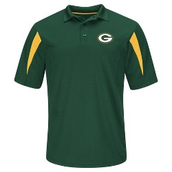 Green Bay Packers Men's Team Logo Polo Shirt