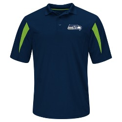 Seattle Seahawks Men's Team Logo Polo Shirt