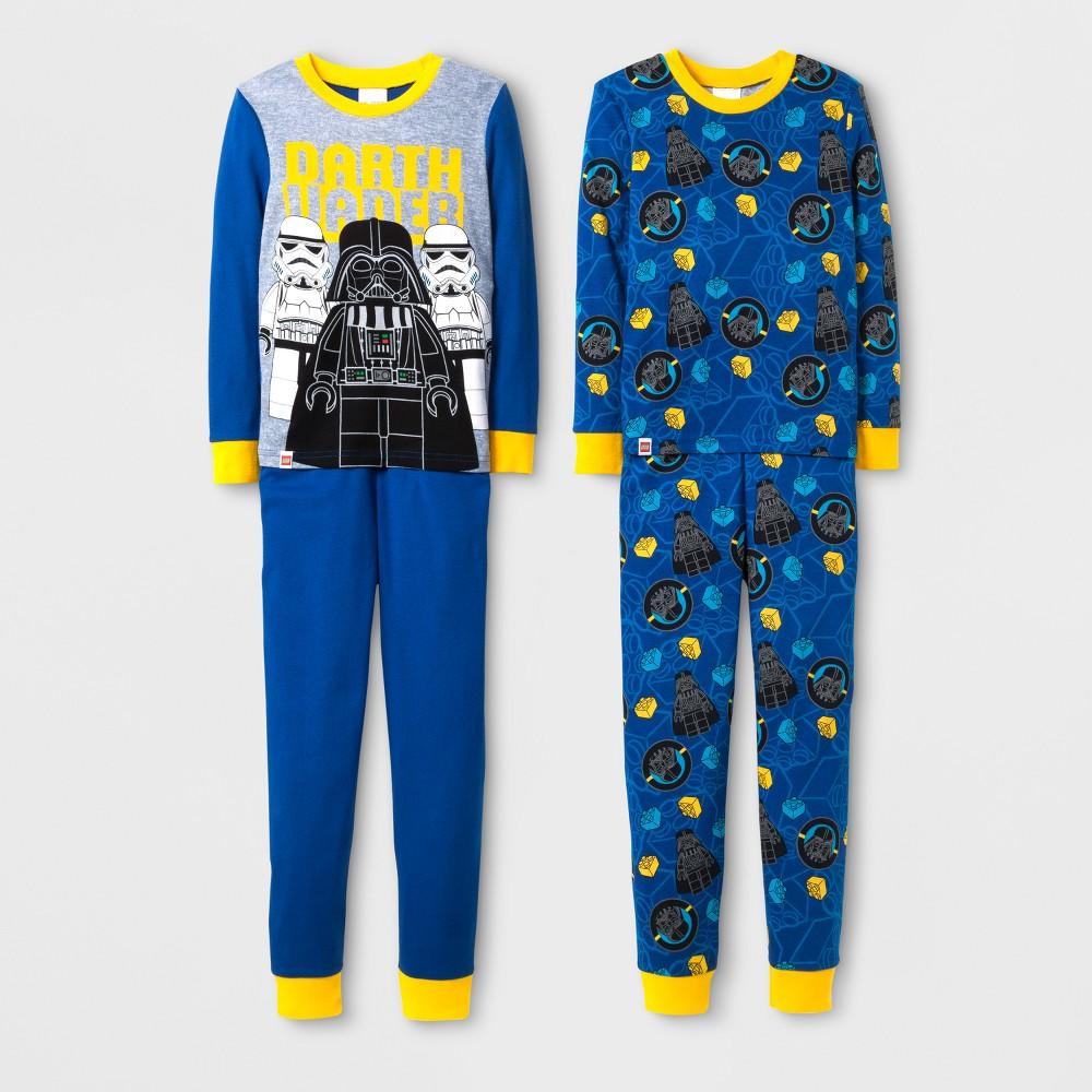 Boys Lego Star Wars 4pc Cotton Pajama Set - Blue 6