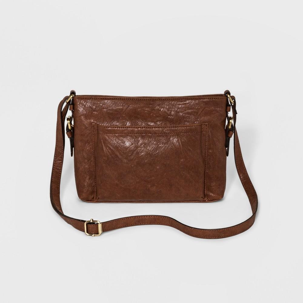 Bueno Womens Crossbody Handbag - Medium Brown