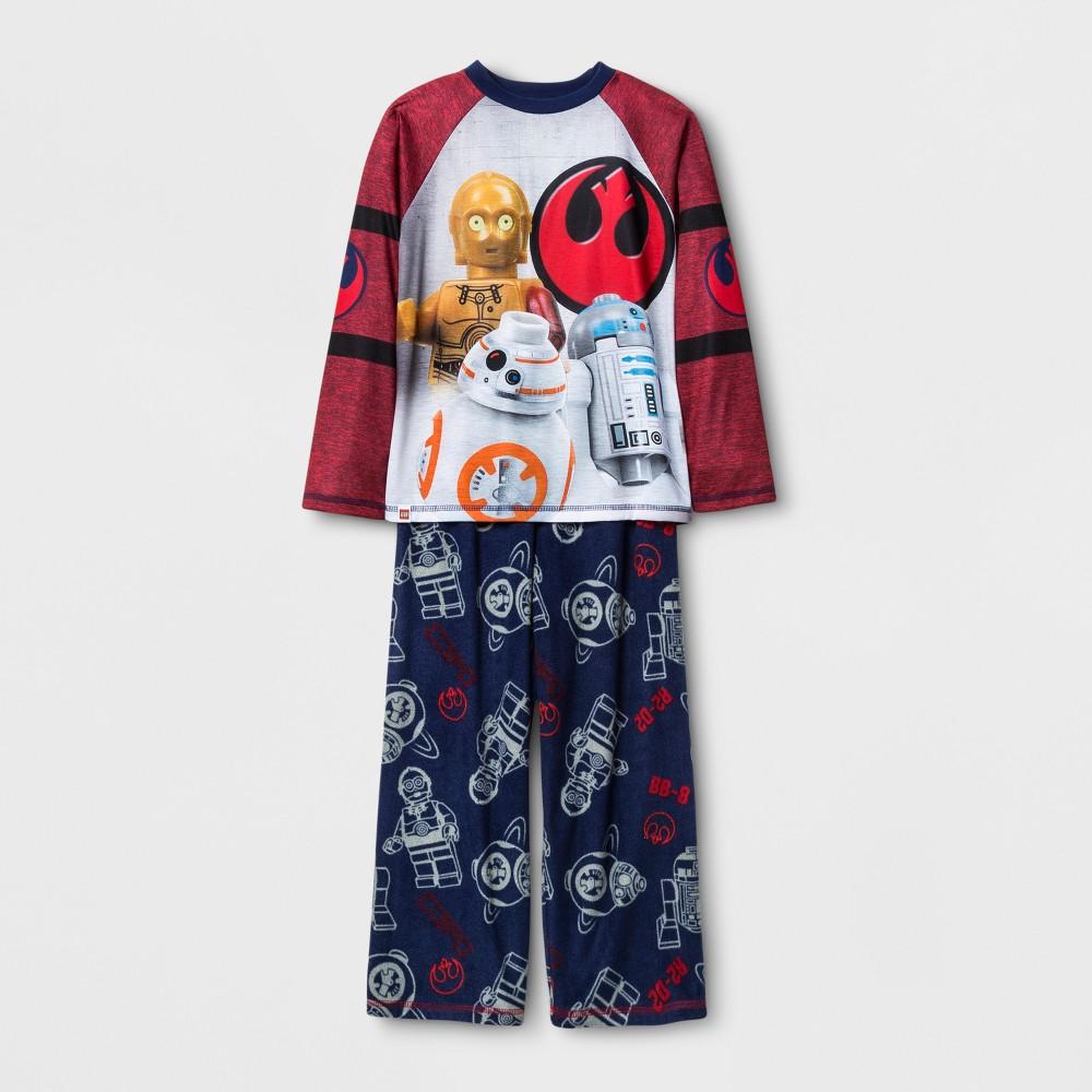 The Lego Star Wars Boys Spacedye Pajama Set - Navy 4-5, Blue