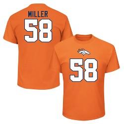 Denver Broncos Men's Von Miller Jersey T-Shirt