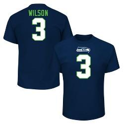 Seattle Seahawks Men's Russell Wilson Jersey T-Shirt
