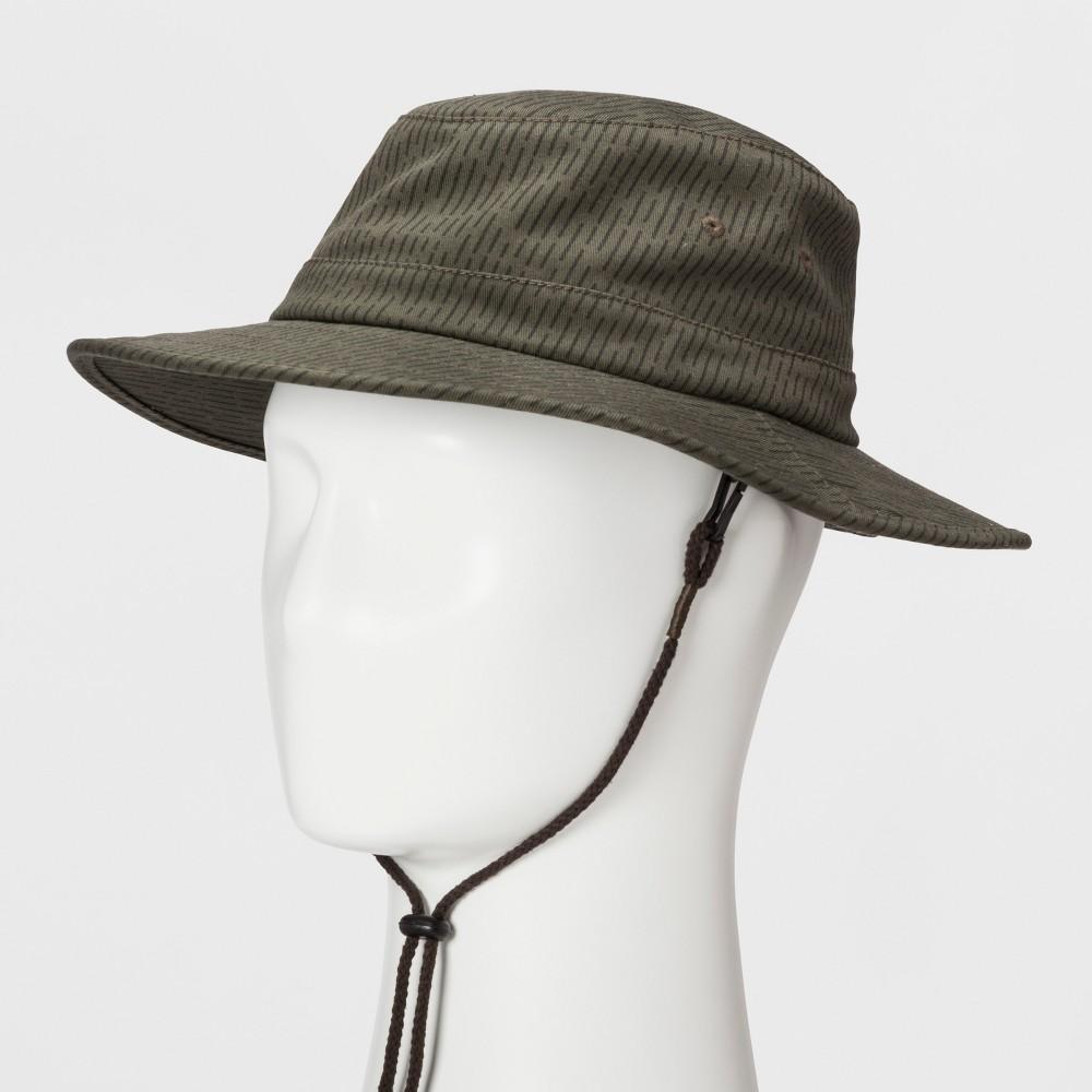 Mens Rain Boonie Bucket Hat - Goodfellow & Co - Olive M/L, Green