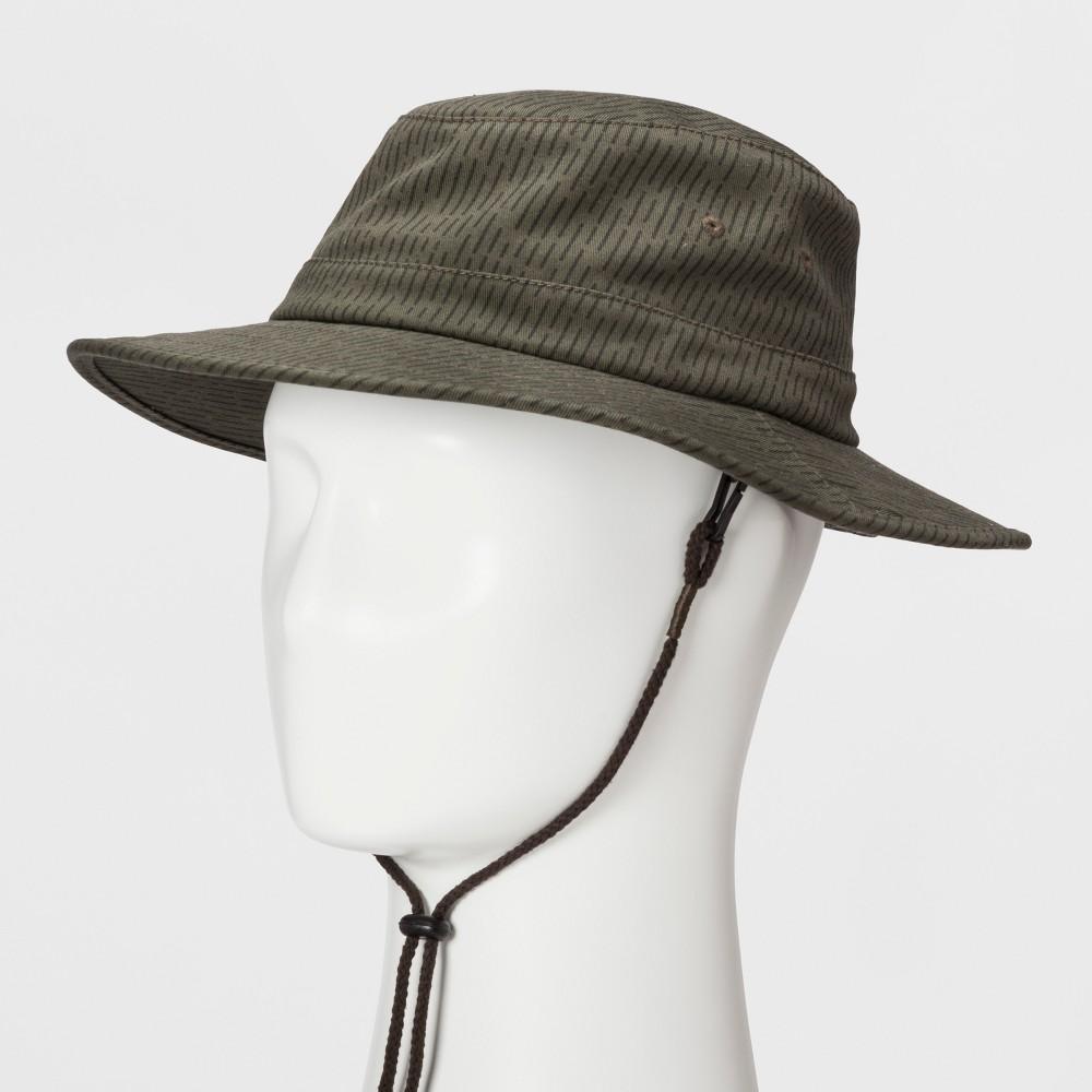 Mens Rain Boonie Bucket Hat - Goodfellow & Co - Olive L/XL, Green