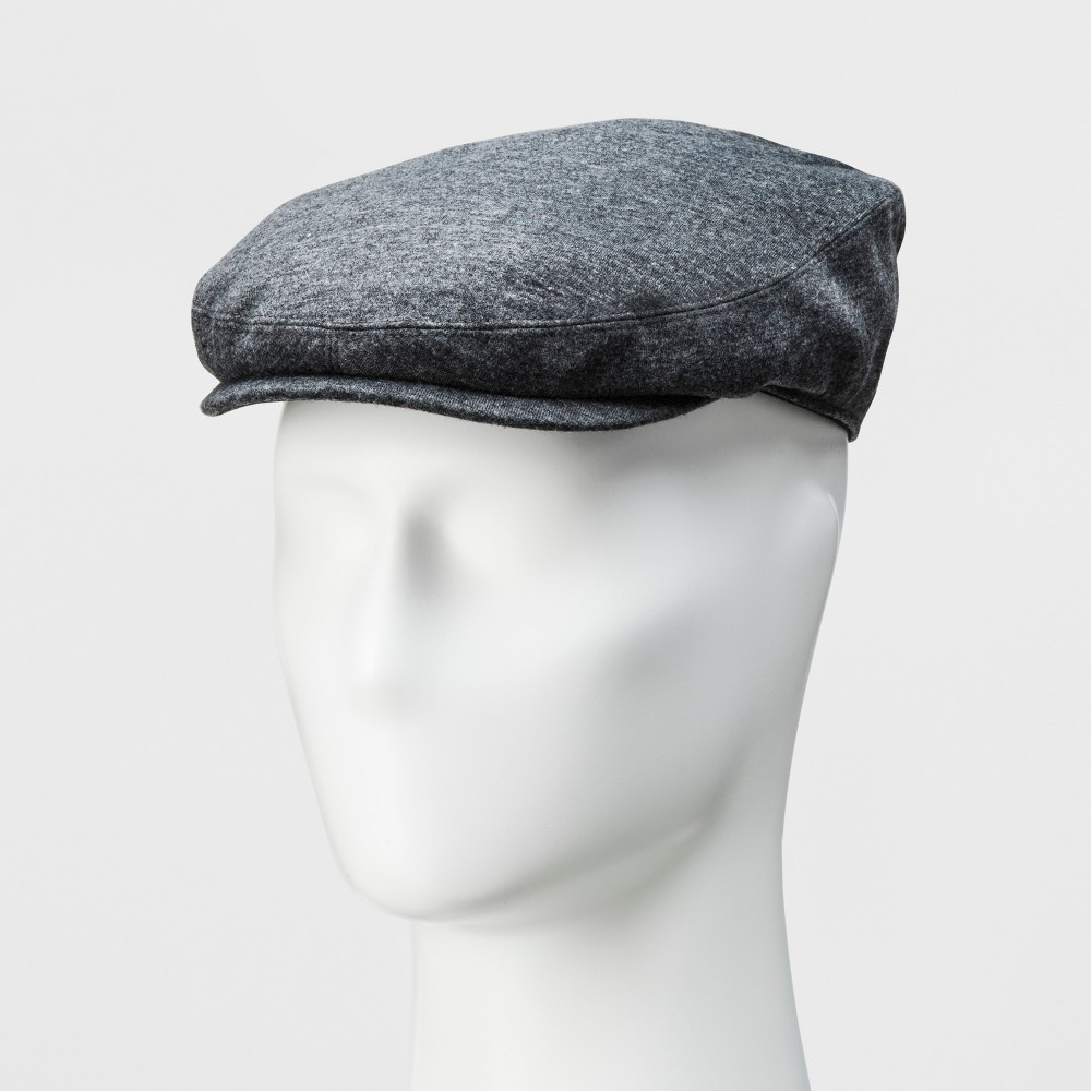 Mens Jersey Flat Cap - Goodfellow & Co Gray M/L