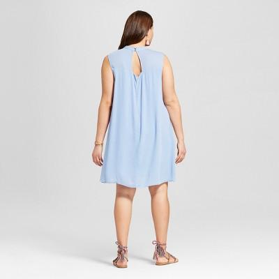 Plus denim dress at target