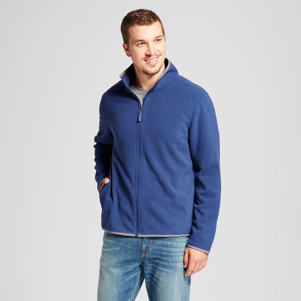 Mens Microfleece Jacket - Goodfellow & Co Blue S