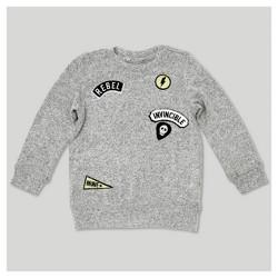 Afton Street Toddler Boys' Sweatshirt - Heather Gray