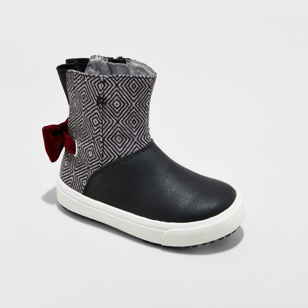 Toddler Girls Just Buds Josie Fashion Boots - Black 7