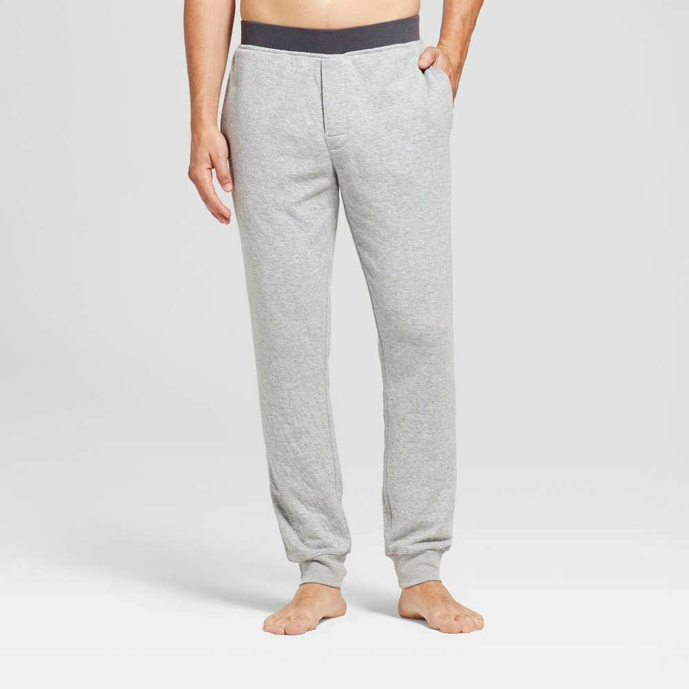 Mens Jogger Pajama Pants - Goodfellow & Co Heather Gray M