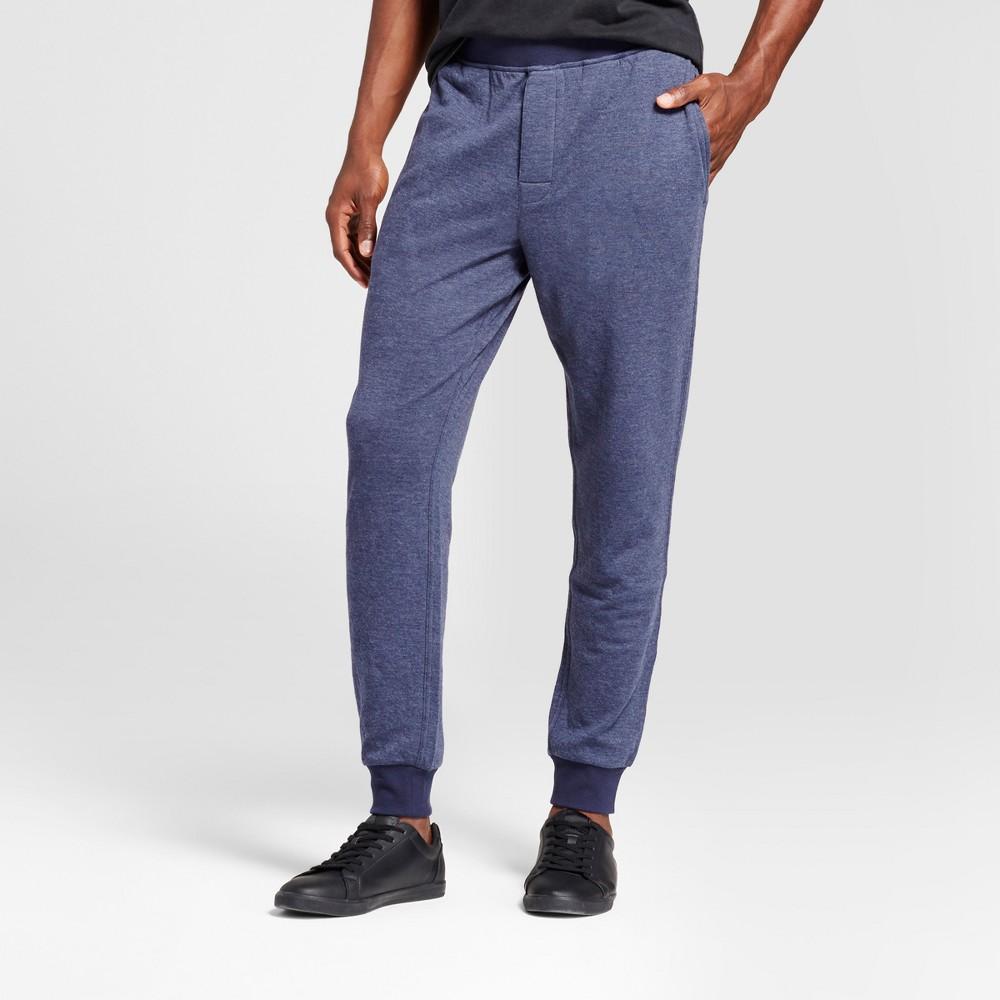 Mens Jogger Pajama Pants - Goodfellow & Co Navy (Blue) L