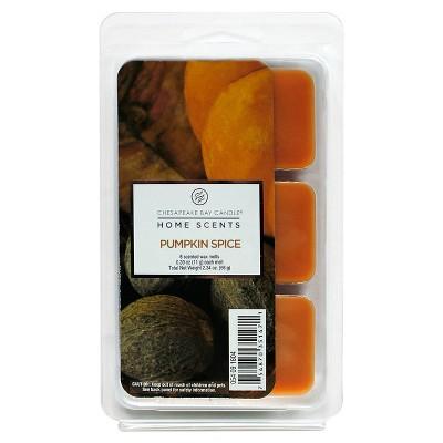 Wax Melt 6pk - Pumpkin Spice - Home Scents