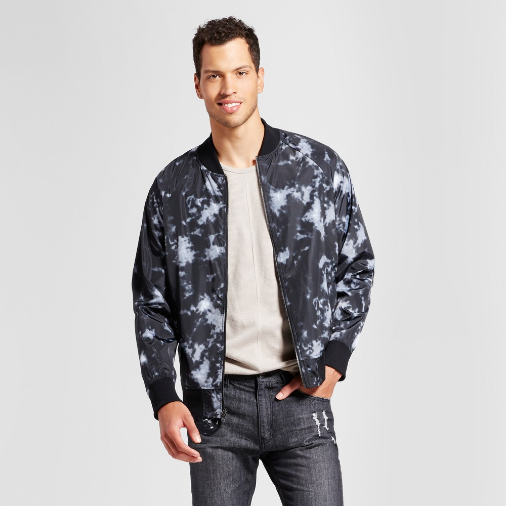 Mens Reversible Bomber Jacket - Jackson Black XL