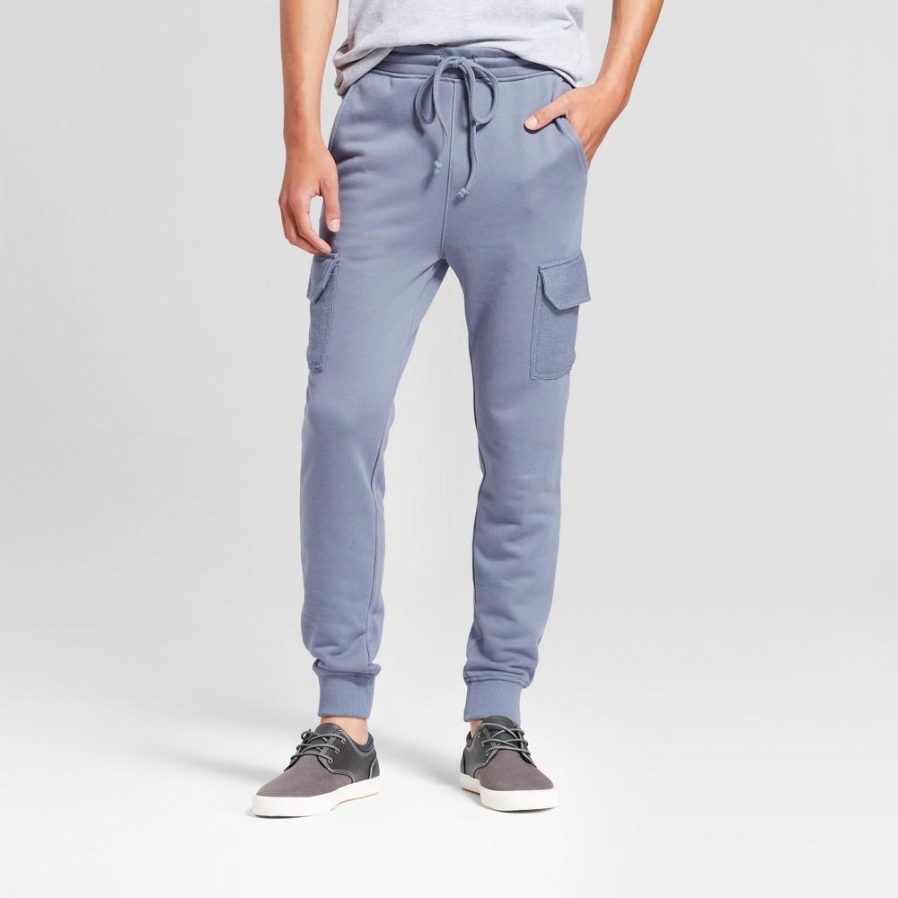 Mens Knit Cargo Jogger - Jackson Slate L, Gray