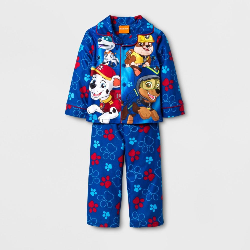 Pajama Set Paw Patrol Blue 2T, Toddler Boys