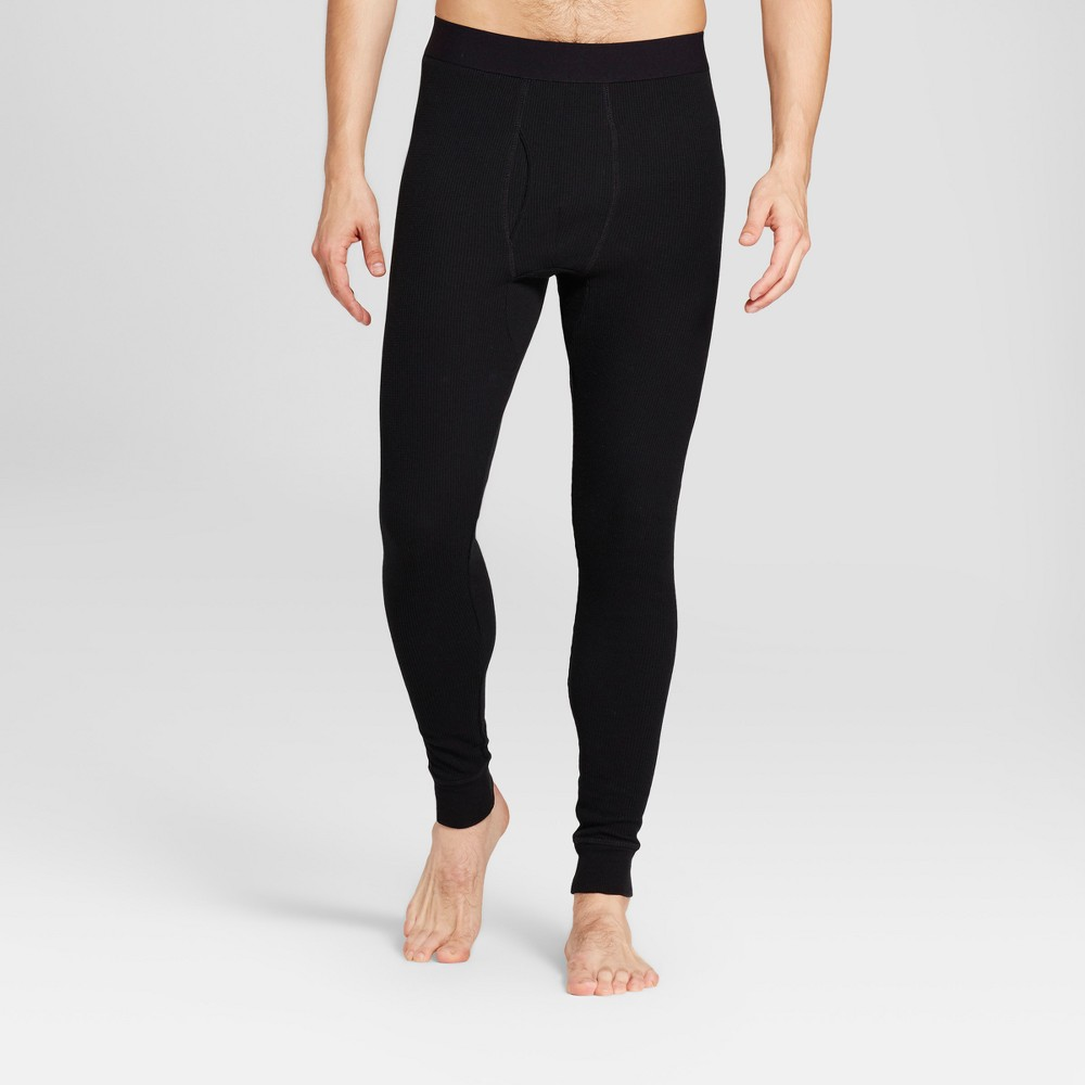 Mens Micro Thermal Pants - Goodfellow & Co Black XL
