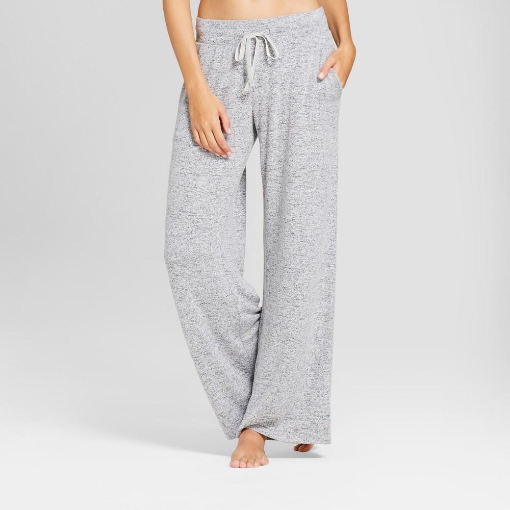 Womens Pajama Pants Gray XS