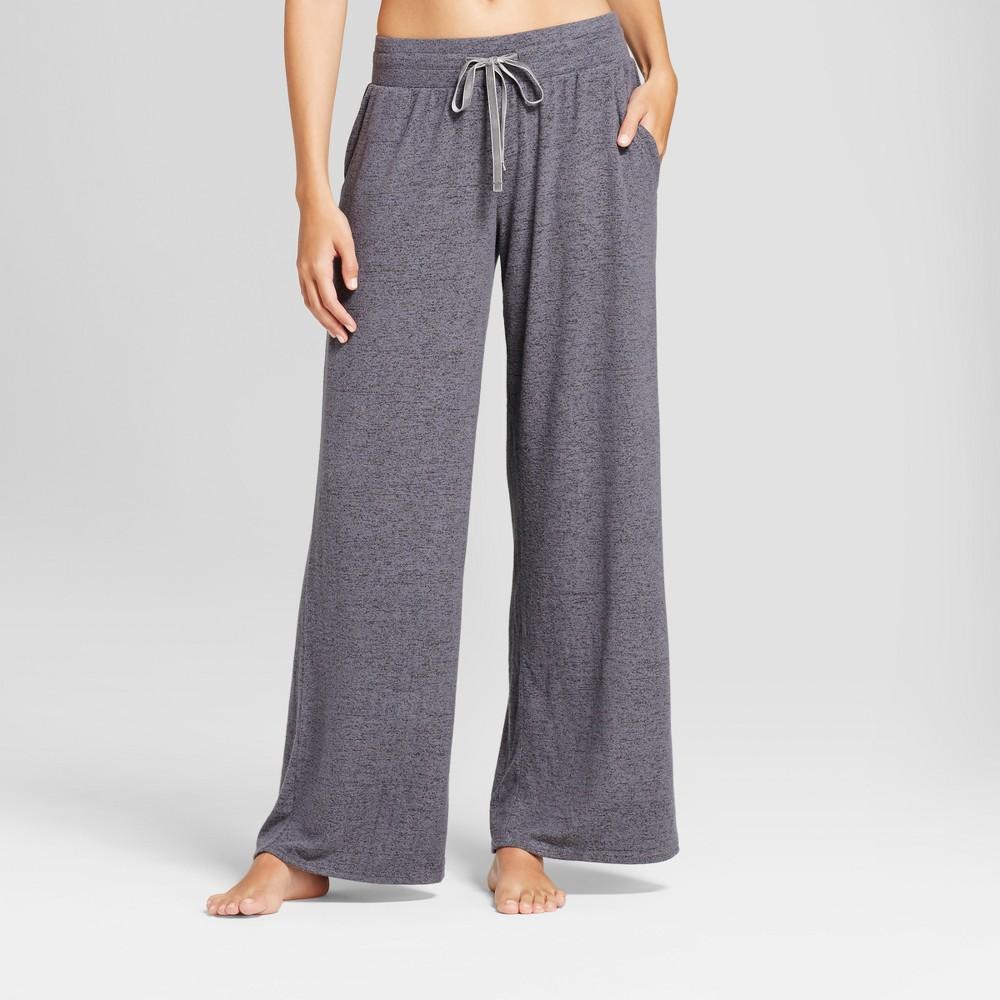 Womens Pajama Pants Black M