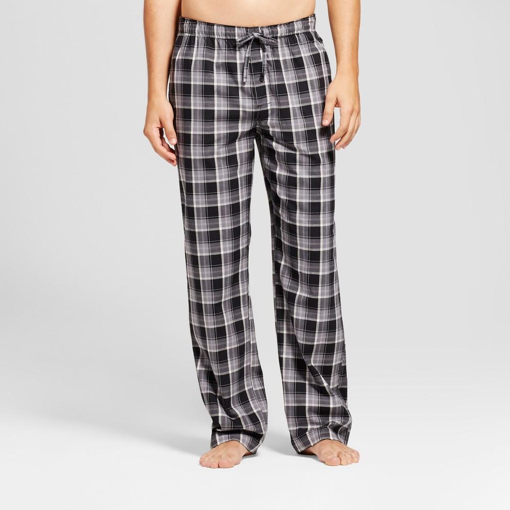 Mens Knit Pajama Pants - Goodfellow & Co Black Check XL