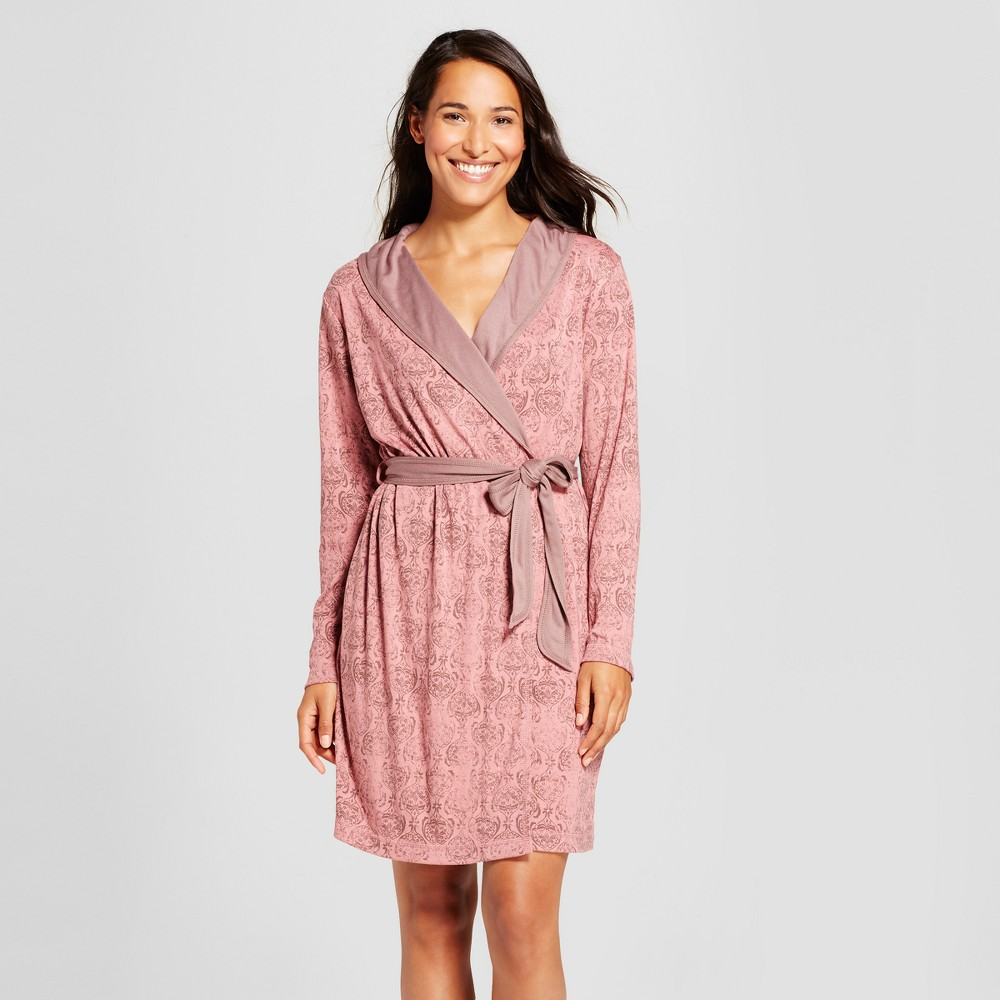 Womens Robes Holiday Rose M/L, Pink