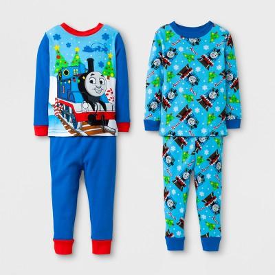 Baby Boys' Thomas & Friends Pajama Set - Blue 12M