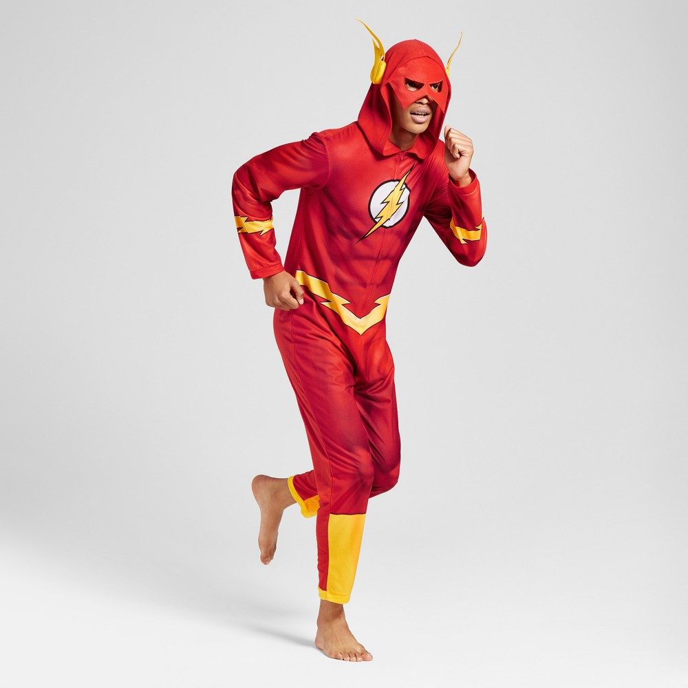 Mens Flash Justice League Union Suit - Red S