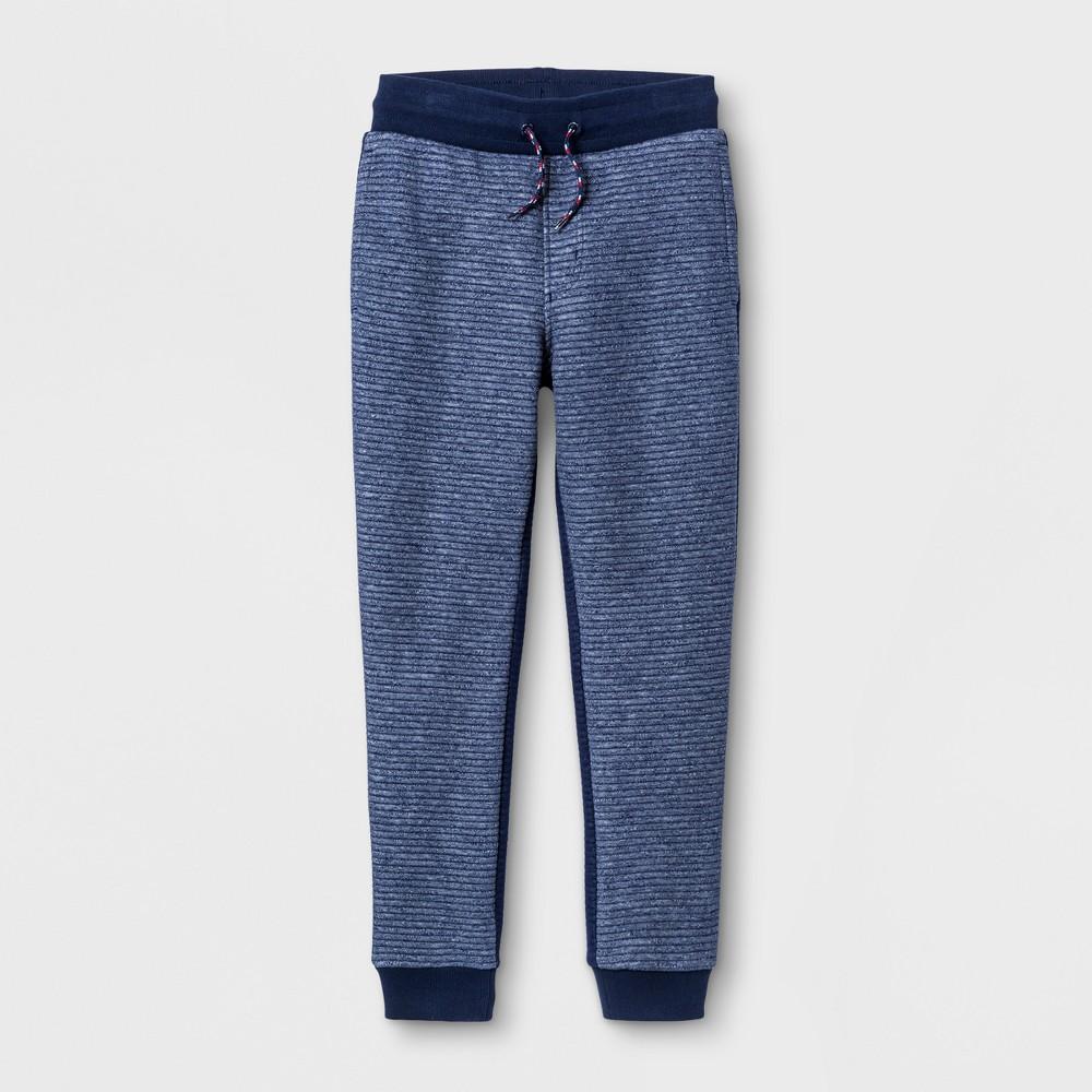 Boys Jogger Pants - Cat & Jack Navy, Size: Small, Blue