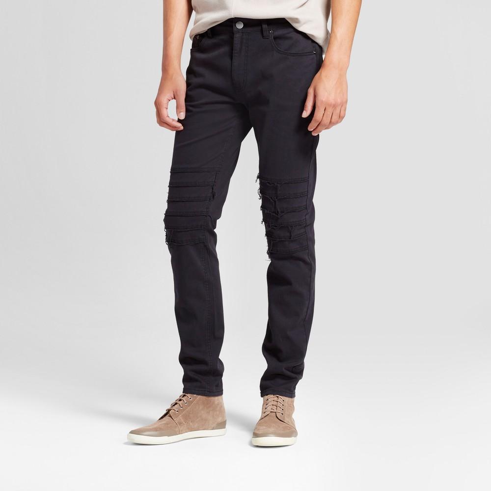 Mens Fashion Pant - Jackson Black 34